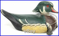Big Sky Carvers By Sally McMurry Carved Wood Duck Drake and Hand Painted (RCR)