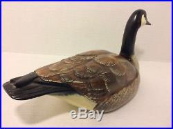 Big Sky Carvers Canadian Goose Signed Jessica Gordon Manhattan Montana 1999