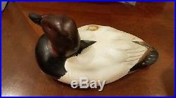 Big Sky Carvers Canvasback Duck Decorative Decoy signed K. Basta