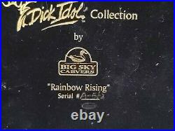 Big Sky Carvers Dick Idol Collection Rainbow Rising Sculpture #A-562 Trout