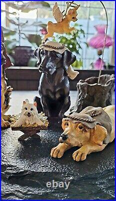 Big Sky Carvers Dogtivity Canine Figurines