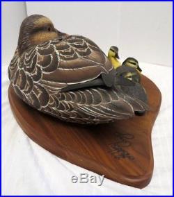 Big Sky Carvers Duck By Ashley Gray Motherhood Series 282/1950 Resin Casting