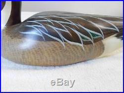 Big Sky Carvers Duck Decoy Hand Carved Pintail Drake SIgned 19 3/4