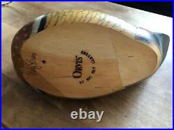 Big Sky Carvers Duck Decoy Signed Carved Wood Duck Hand Painted