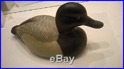 Big Sky Carvers Ducks Unlimited ND 1995 Duck Decoy Wood Signed Sonya Hatfield