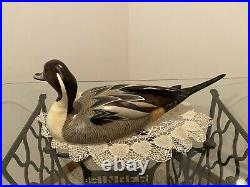 Big Sky Carvers Ducks Unlimited Pintail Decoy By World Champ Carver John Gewerth