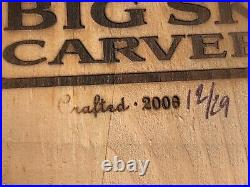 Big Sky Carvers Full Size Wood Pheasant. Limited Edition. 12/29. 2006 Signed. Rare