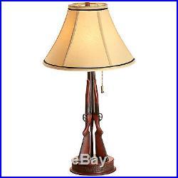 Big Sky Carvers Hunters 3 Shotgun Table Lamp