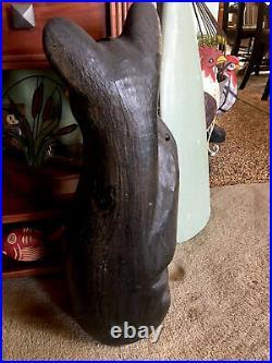 Big Sky Carvers Jeff Fleming Carved Wood Climbing Bear 23 Beautiful Rare XLNT