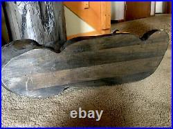 Big Sky Carvers Jeff Fleming Carved Wood Reclining Bear 23 Beautiful Rare XLNT