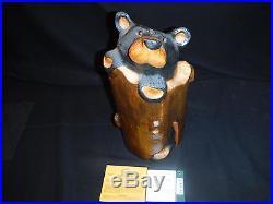 Big Sky Carvers Jeff Fleming Solid Wood Bear Angie. Bigfoots 15 Coa Tag