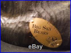 Big Sky Carvers Jeff Fleming Solid Wood Bear Bigfoots Gabrielpraying 12