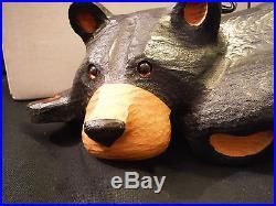 Big Sky Carvers Jeff Fleming Solid Wood Bear Bonnie + Orig. Box+cert. Tag