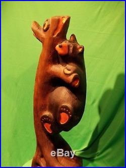 Big Sky Carvers/Jeff Fleming Solid Wood Bear Sarah