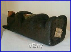 Big Sky Carvers Jeff Fleming Solid Wood Bear Sculpture HEAVENLY 12 Signed