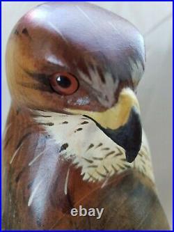 Big Sky Carvers K. W. White Hawk