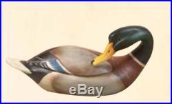 Big Sky Carvers Kennedy Mallard Wood Decoy New B5060022 Figurine Rare Duck