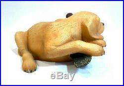 Big Sky Carvers Lab Dog & Duck Decoy Statue Figurine by Bradford Williams