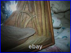 Big Sky Carvers Large Mirror Duck With Reeds Design