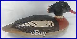 Big Sky Carvers Legacy Horner Red Merganser Replica Wood Duck Decoy Rustic Decor