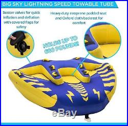 Big Sky Carvers Lightning Speed Towable For 1-4 People