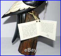 Big Sky Carvers Limited Masters Edition Billed Woodpecker Bird 148/250 AP