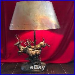 Big Sky Carvers Living Large White Tail Deer Resin Sculpture Marc Pierce Lamp