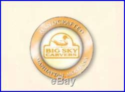 Big Sky Carvers Loon Wood Decoy New B5060010 Figurine Rare Cute Bird Duck Us