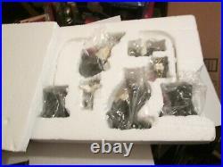 Big Sky Carvers MOOSETIVITY I Figurine Set 5 piece set in box hard to find moose