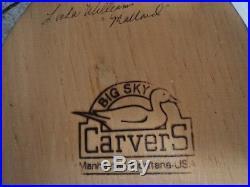 Big Sky Carvers Mallard