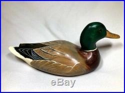 Big Sky Carvers Mallard Duck Carved Decoy Artist Signed Kim Stephens 2003
