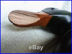 Big Sky Carvers Mallard Duck Wood Carved Decoy Artist Signed Craig Fellows