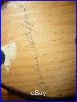 Big Sky Carvers Mallard Duck Wood Carved Decoy Signed Briham Stafford