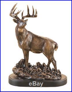 Big Sky Carvers Marc Pierce Collection One Chance Deer Sculpture