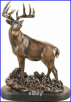 Big Sky Carvers Marc Pierce One Chance Deer Sculpture Montana Bronze NIB
