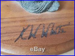 Big Sky Carvers Masters Edition Woodcarving Owl 282/950 K. W. White by Ken White