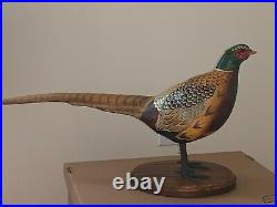 Big Sky Carvers Masters Edition Woodcarving Pheasant