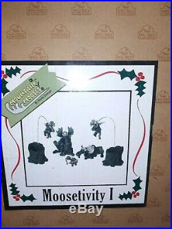Big Sky Carvers Moosetivity 1, 2, 3 & 4 Moose Nativity