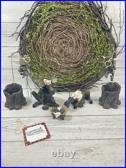 Big Sky Carvers Moosetivity Animal Nativity Mountain Mooses Christmas Set 1