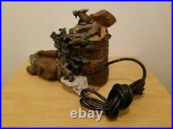 Big Sky Carvers Mountain Mooses Fountain by Phyllis Drisoll Tested See Photos