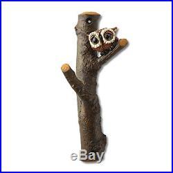 Big Sky Carvers Owl Wall Hook Utility Hooks, New