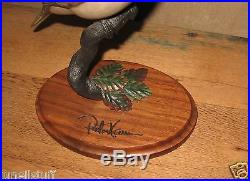 Big Sky Carvers Peter Kaum Perched Dove Master's Limited Edition 233/750