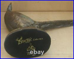 Big Sky Carvers Pheasant High Alert Dick Idol Collection Bronze Sculpture