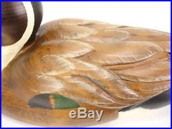 Big Sky Carvers Pin Tail Wood Duck Decoy Artist Signed S. Moffett