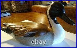 Big Sky Carvers Pintail Duck 1999/#1104 Signed by Sally Mc Murray Vintage