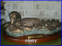 Big Sky Carvers Pintail Parade Duck Sculpture by Bradford Williams 2000