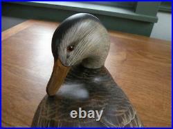 Big Sky Carvers Preening Black Duck (ORVIS)