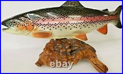Big Sky Carvers Rainbow Trout New 1601 Fish Bsc Reel Rare Retired Carving Us