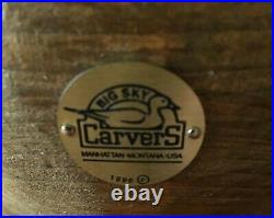 Big Sky Carvers Retired Hand-carved Outdoor Beauties