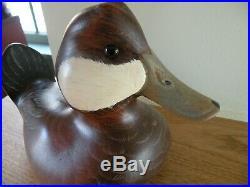 Big Sky Carvers Rudy Duck Wood Carving